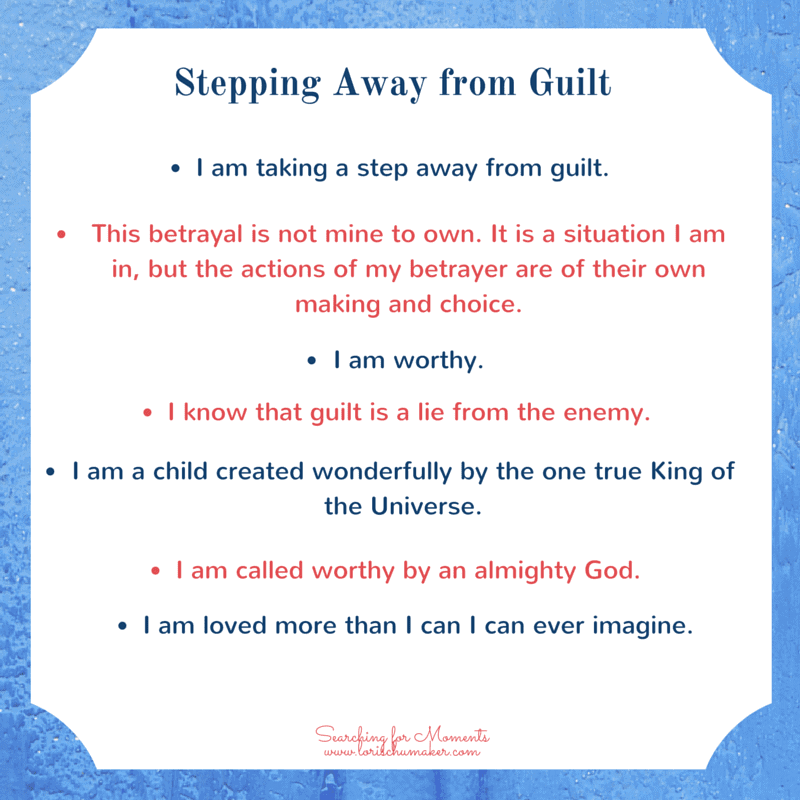 Affirmations of Truth over Guilt