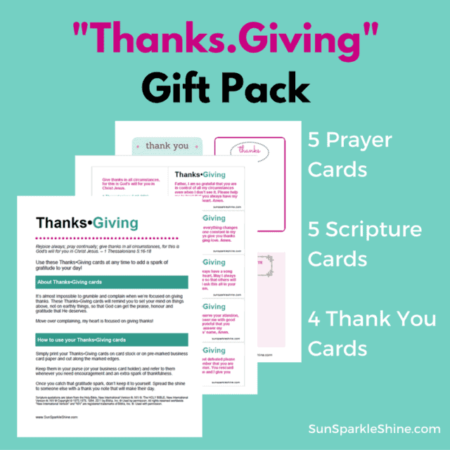 Gratitude in all Circumstances?