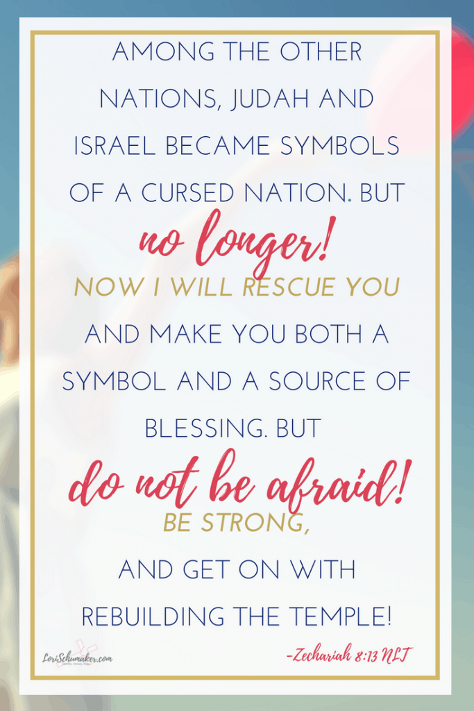 Getting Unstuck: Letting Go of the Past and Choosing to Live Again - Zechariah 8:13 NLT #bibleverse #godsword #godslove #hope #gettingunstuck #lettinggo #overcoming #betrayed #livingagain