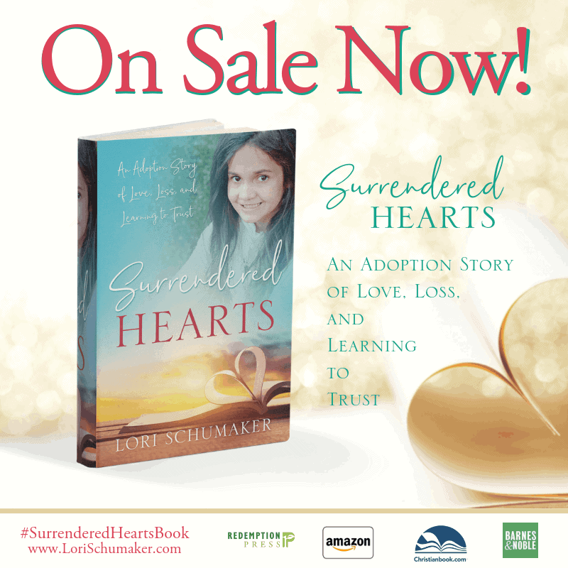 The Surrendered Hearts Book Releases Today!