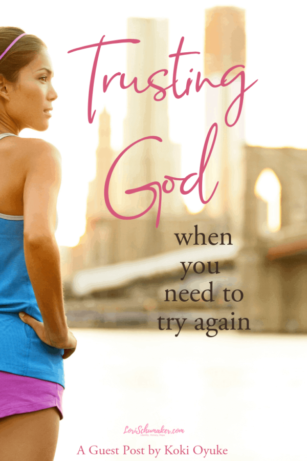 Having to try again isn't what we hope for. We want things to happen right the first time. It's easy to get frustrated and disappointed. But what if your story is made complete by the agains in life? Koki Oyuke shares her story and introduces her new book on trusting God as you try again with a new perspective #hope #chosennotcheated #christianliving #trustinggod