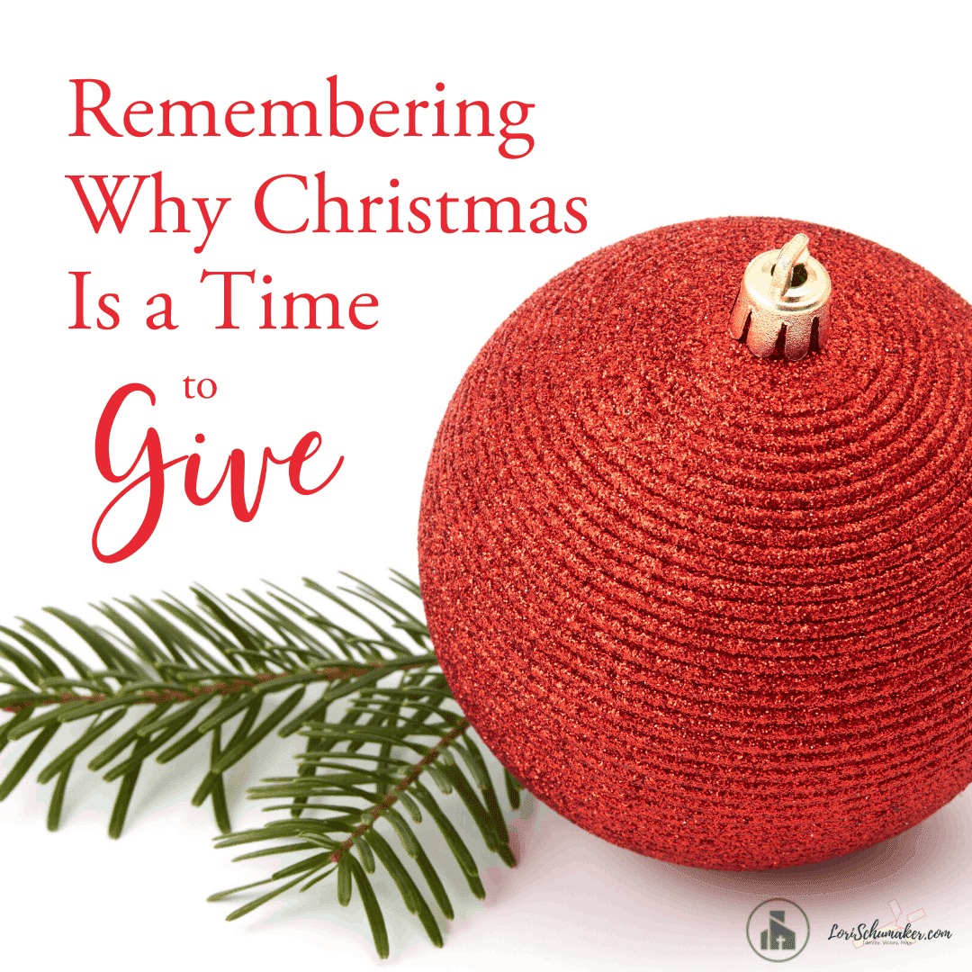 Christmas Is A Time to Give — But Do We Remember Why?