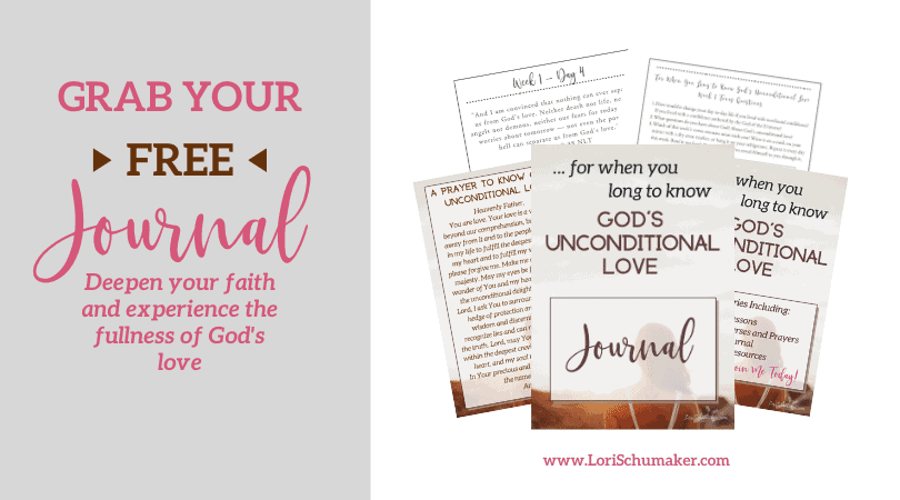 The Journal will help you deepen your faith and experience the fullness of God's unconditional love. It functions as a supplement to the content and prayers found in the free original series.