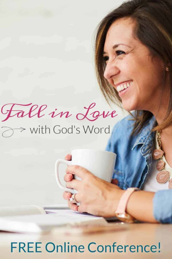 The Equipping Godly Women Conference: God's Word is His love letter to us, His children. It is our compass and our hope. Would you like to fall in love with the Bible so that you can be more equipped to live differently? To apply God's Word and live with more hope, peace, and joy? Join me on the journey!