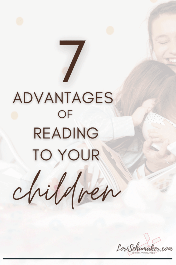 What are the advantages of reading books to your children? I believe reading to our children is one of the most important actions we can take as a parent. It also goes hand-in-hand with raising Godly children in the Christian faith. #parenting #christianparenting #readingbooks #readingtoyourchildren #readaloud
