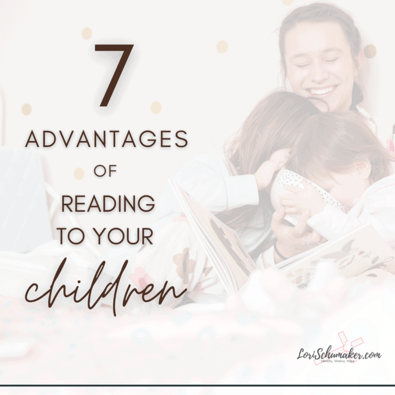 What are the advantages of reading books to your children? I believe reading to our children is one of the most important actions we can take as a parent. It also goes hand-in-hand with raising Godly children in the Christian faith.